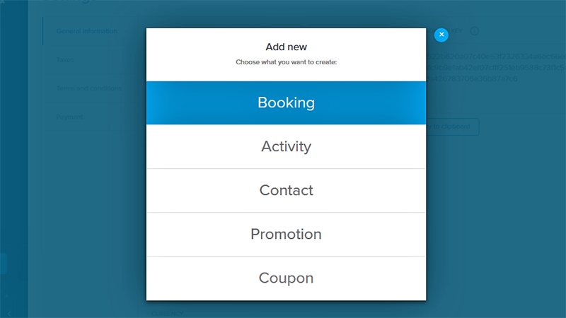 orioly, add bookings, new, support, booking software