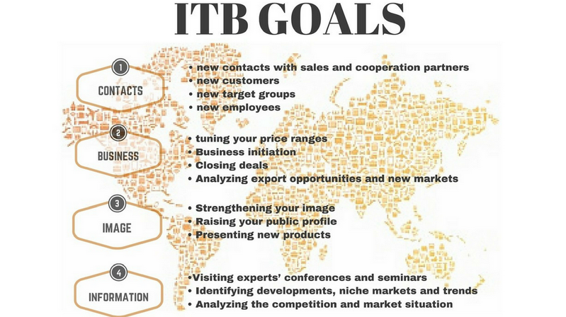 ITB GOALS, itb, itb 2017, itb berlin, small tour operators, tour operator, tourism, berlin, benefits