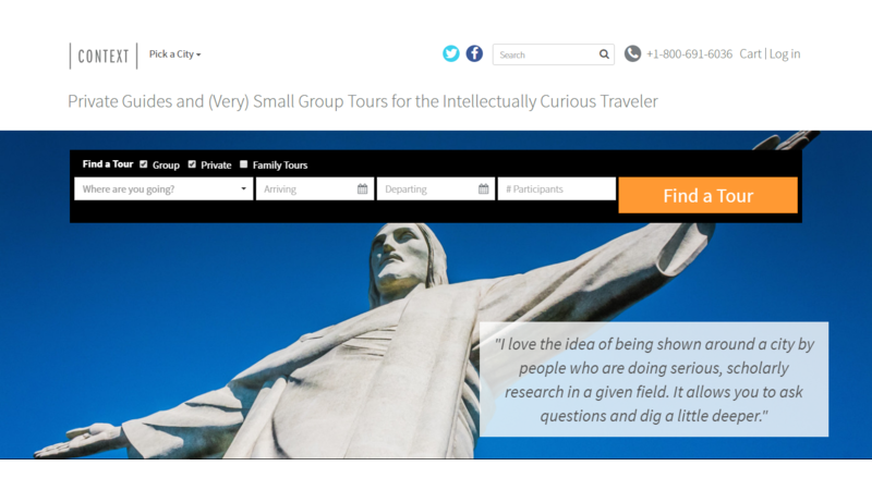 travel websites for tour operators, travel websites, travel industry, travel websites to learn from, tour and travel, travel news, travel industry trends, website, context travel