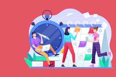 social media marketing strategy for tourism illustration