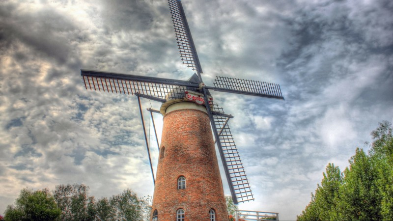 windmill, sustainable, tourism, travel, trends