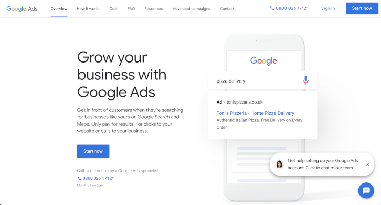 Google Ads for attracting local customers
