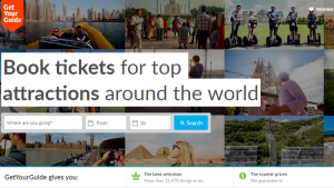 online booking of tour packages, Orioly, Get Your Guide, online booking system, how to improve sales of tours and activities, online travel agents,