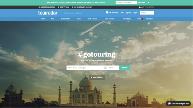 distribution channels for tours and activities, online travel agent, marketplace