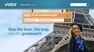 distribution channels for tours and activities, online travel agent, Viator
