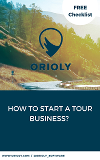 tour business, start a tour business, travel agency, online booking software, tour booking system, orioly