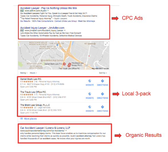 Google My Business for Tour Operators - Local 3-pack - Orioly blog