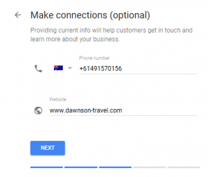 Google My Business for Tour Operators - Step 5 - Make connections
