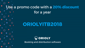 orioly discount, itb berlin, online booking software, tour booking software, travel agency, tour company, orioly
