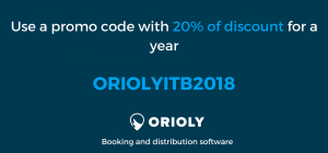 itb berlin 2018, discount code, Orioly