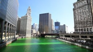 St. Patrick's Day - Chicago River