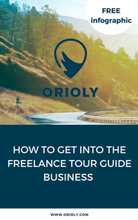 Freelance Tour Guide Business Orioly Infographic