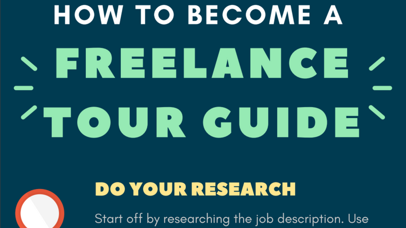 Freelance Tour Guide Business - Orioly Infographic