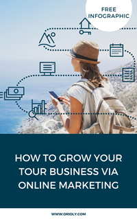 Grow your tour business - Landing page