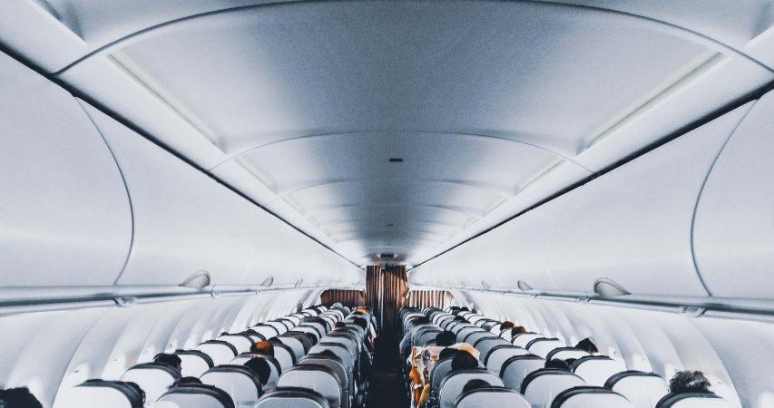 People inside an airplane