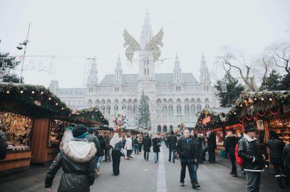 Vienna coronavirus-safe Christmas market