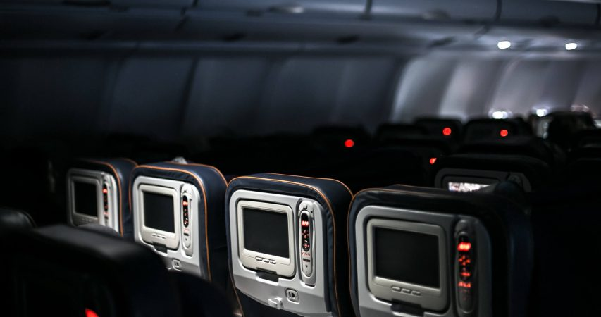 Airplane entertainment system for tour online bookings