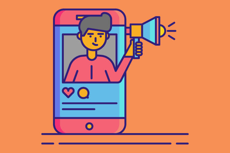 Social media illustration for tour operators to stay top of mind