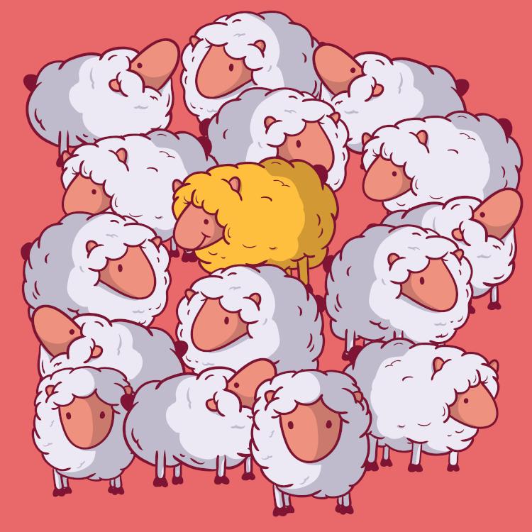 The art of storytelling tour operators sheep illustration