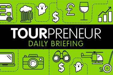 Tourpreneur daily brief tourism newsletter cover
