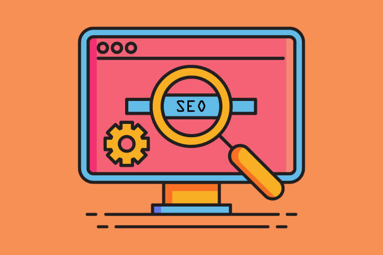 Website SEO illustration for tour operators to stay top of mind