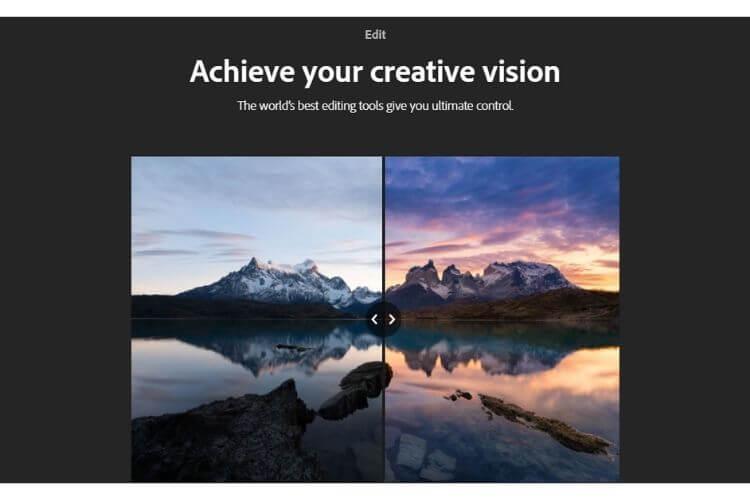 Lightroom za uređivanje slika