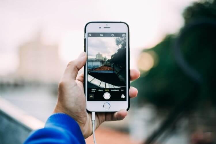 uređivanje slike iPhone