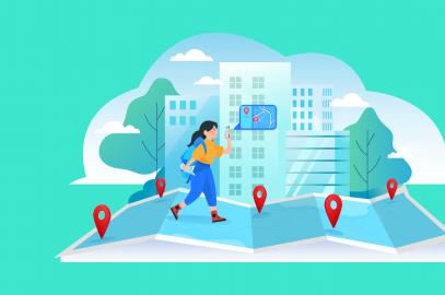 smart destinations cover illustration