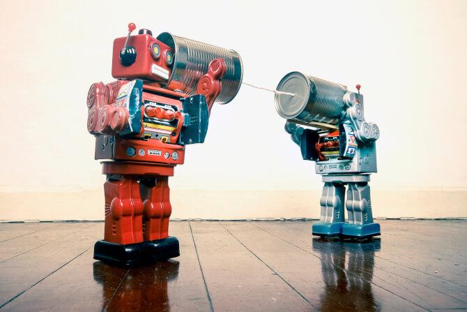 toy robots smart destinations